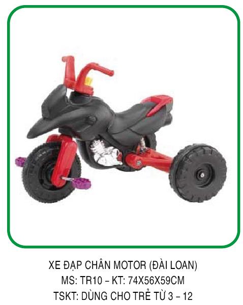 Xe đạp chân Motor