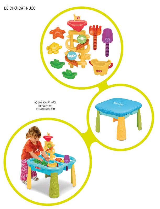 Bộ đồ chơi cát nước